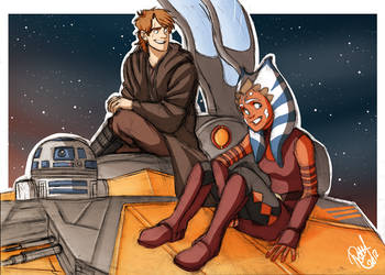 SW - Chilling up by Renny08