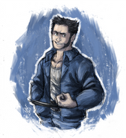 Wolvie Sketch by Renny08