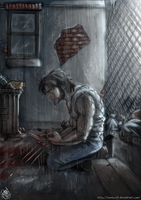 Wolverine - Blood and Rain by Renny08