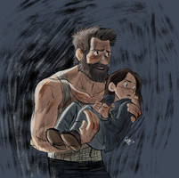 Logan and Laura again by Renny08