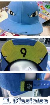 a7a455ec8a2 Blastoise Snapback Hat  SOLD  by DannyJarratt on DeviantArt