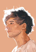 Louis Tomlinson Speedpaint. by DannyJarratt