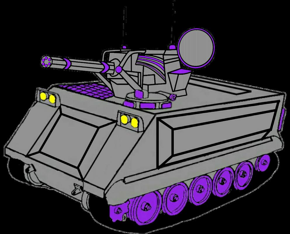 Kolin M 163 Vulcan Spaag Infantry By Justinglowala66 On Deviantart