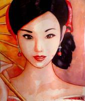 japanese girl by floboc