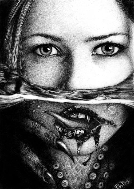 Mermaid by floboc