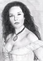 Catherine Zeta-jones in Zorro by floboc