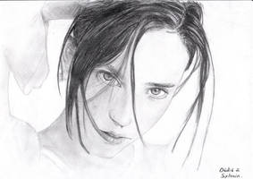 Jennifer Conelly by floboc