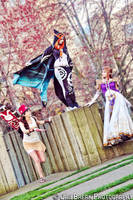 Zelda : The Princesses (Plus Postman) by Angiechuu