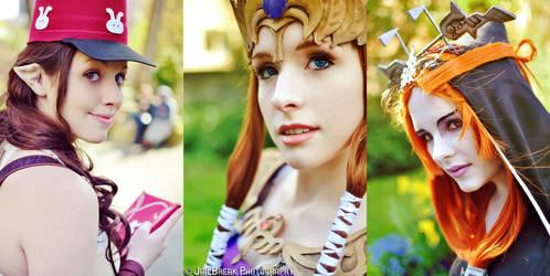 Twilight Princess : Headshots by Angiechuu