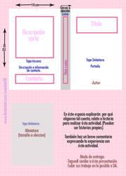 Actividad Cubierta para libro. by Crowhite98