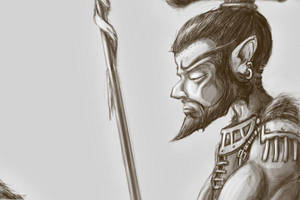 Gnome Fighter - Pathfinder by Sebbythefreak