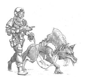 Corpsec - Hellhound Patrol by Sebbythefreak