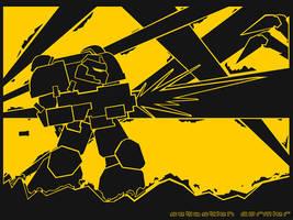 Warhammer 40k vector WP by Sebbythefreak