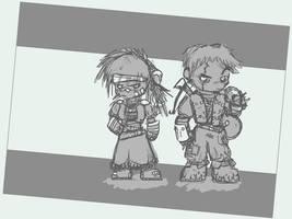 WHF Chibi Scoundrels by Sebbythefreak