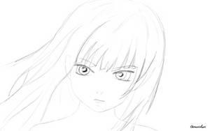 Anime 01 (sketch) by quazistax