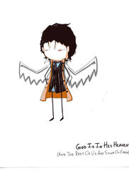 GodIs - Metatron by KaitousBlackWings