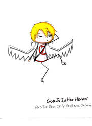 GodIs- Michael Chibi OldDesign by KaitousBlackWings
