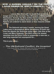 Solinoid Invasion Back Cover by theschell