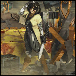 Battle Angel Alita by theschell
