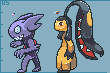 Sableye Mawille by Hyper-Stan