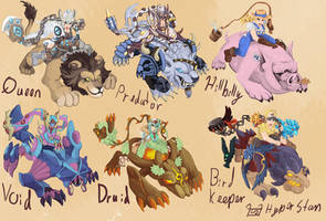 Sejuani skins that will never happen 2 by Hyper-Stan