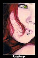 Colored Pencil Redhead 3 by theGaffney