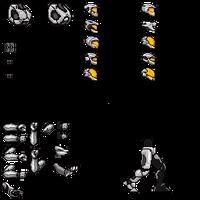Halo Spartan Spritesheet WIP1 by latyle