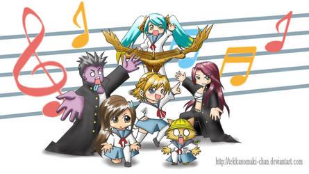 Haruhi Dance LOL wallpaper by TekkanoMaki-chan