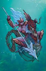 Seahorse Warrior COLORS by Jasen-Smith