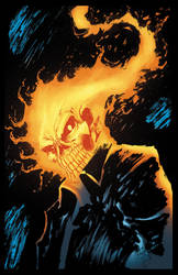 Ghost Rider COLORS by Jasen-Smith