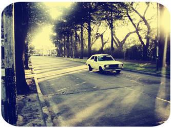. Retro car . by JoLiTa