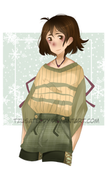 Christmas Lara by TzusaTeddy