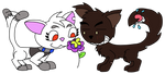 Kitties by BlueHecate