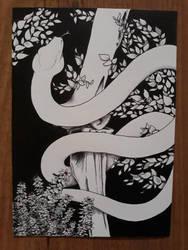 snake by an-nasr-at-tair