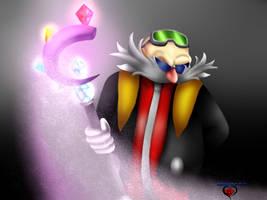 Eggman Nega and the Jewel Septer by JasmineRobotnik