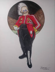 Another NG Eggman drawing by JasmineRobotnik