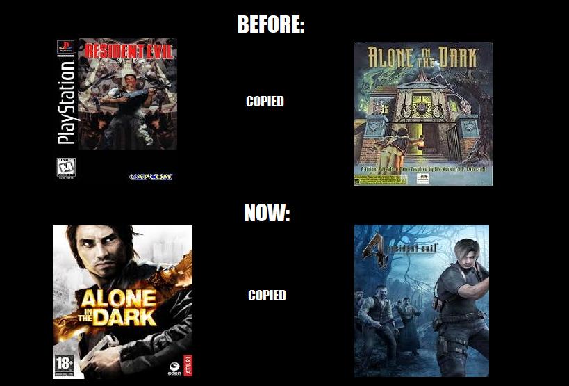 Resident Evil And Alone In The Dark Meme By Infraredtoa On Deviantart