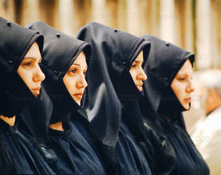 Sardinian women by Toporagno