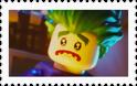 Sad Lego Joker Stamp by NightmareBear87