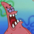Angry Patrick Star Emoticon Icon