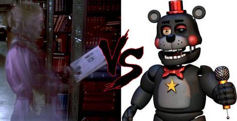 Librarian VS. Lefty Death Battle by NightmareBear87