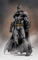 Ben Affleck's Batman by Jason Fabok by BatmanMoumen