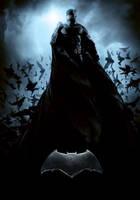 The Batman Poster By Bryanzap-(EDITED) by BatmanMoumen