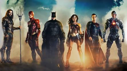 Justice League united by BatmanMoumen