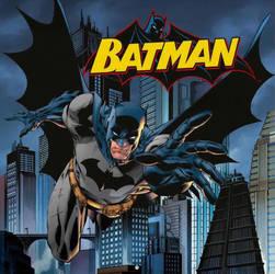 Batman by Jim Lee by BatmanMoumen