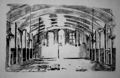 Drypoint- Main hall 1 by invitationtotheblues