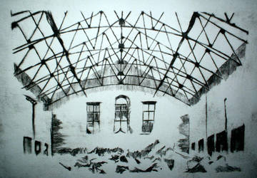 Drypoint- Main hall 2 by invitationtotheblues