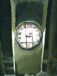 Severalls- Admin Clock by invitationtotheblues