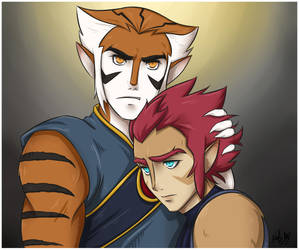 Loyal Like Brothers by nella-nell