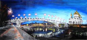 Blue Sky, Moscow by spodromantis